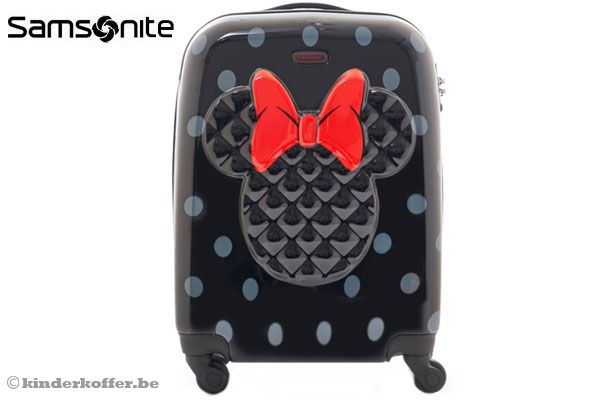 samsonite minnie mouse black abs. Black Bedroom Furniture Sets. Home Design Ideas