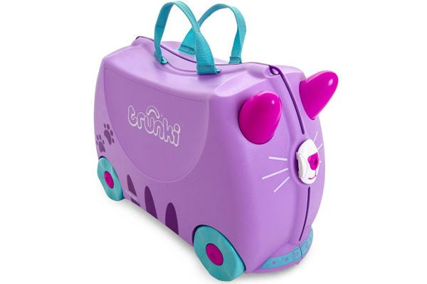 Cassie the Cat kinderkoffer van Trunki.